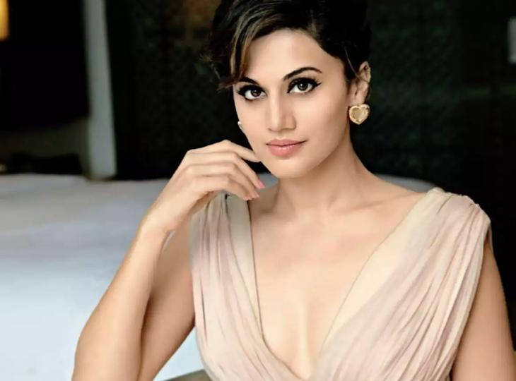 तापसी पन्नू ने दी सफाई, शाहरुख खान के साथ अभी नहीं ऑफर हुई कोई फिल्म, अगर ऐसा हुआ तो जोर-जोर से चिल्लाकर सबको बताऊंगी|बॉलीवुड,Bollywood - Dainik Bhaskar