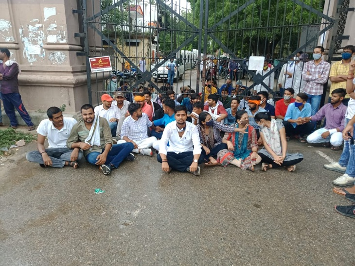 बोले-प्रबंध तंत्र की लड़ाई में क्यों हो रहा हमारा नुकसान, पीजी कोर्स में कैसे होगा एडमिशन|वाराणसी,Varanasi - Dainik Bhaskar