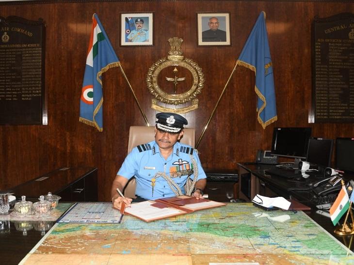 एयर मार्शल आरजे डकवर्थ सेंट्रल एयर कमांड के कमांडिंग-इन-चीफ बने, 38 साल की सर्विस में भर चुके हैं 3000 घंटों की उड़ान|लखनऊ,Lucknow - Dainik Bhaskar