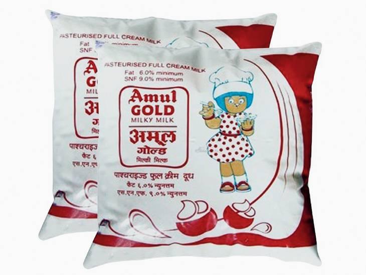 अमूल दूध 2 रुपए प्रति लीटर हुआ महंगा, पराग समेत कई ब्रांड भी बढ़ा सकते हैं रेट|लखनऊ,Lucknow - Dainik Bhaskar