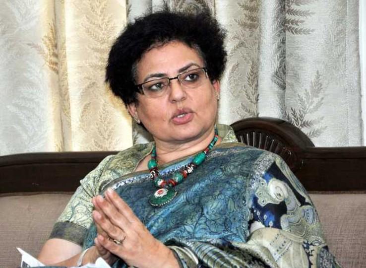 रेखा शर्मा, अध्यक्ष राष्ट्रीय महिला आयोग।