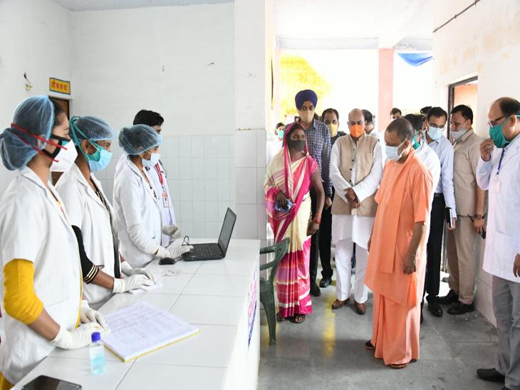 CM के गोद लिए CHC की बदलने लगी सूरत, OPD के साथ मिलेगी सिजेरियन की भी सुविधा गोरखपुर,Gorakhpur - Dainik Bhaskar
