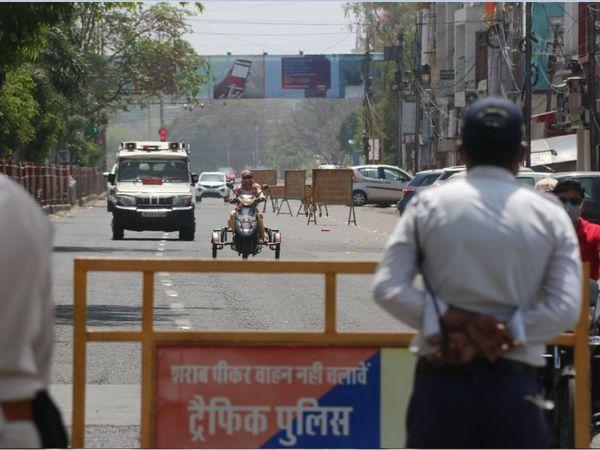 सोशल मीडिया पर वायरल- कलेक्टर ने 18 जुलाई से 8 दिन के टोटल लॉकडाउन का आदेश निकाला; पुलिस की सफाई - यह सच नहीं|भोपाल,Bhopal - Dainik Bhaskar