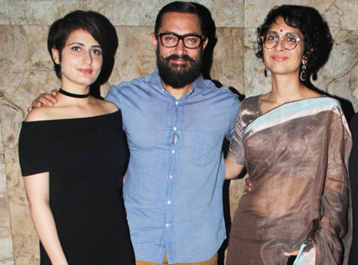 आमिर के तलाक के बाद से एक्ट्रेस फातिमा सना शेख सोशल मीडिया पर टॉप ट्रेंड में, पहले अफेयर की चर्चा रही|बॉलीवुड,Bollywood - Dainik Bhaskar
