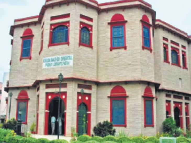 एलिवेटेड राेड के लिए नहीं टूटेगा खुदाबख्श लाइब्रेरी का कर्जन रीडिंग रूम|पटना,Patna - Dainik Bhaskar