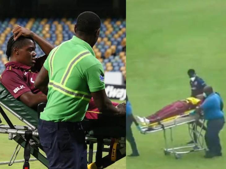 10 मिनट में वेस्टइंडीज की 2 महिला क्रिकेटर मैदान पर बेहोश होकर गिरीं, अस्पताल में भर्ती कराया क्रिकेट,Cricket - Dainik Bhaskar