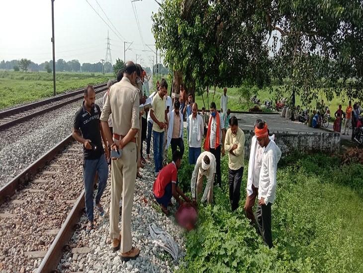 घर से काम के लिए निकला था दूध कारोबारी, 24 घंटे तक नहीं लौटा; ट्रैक पर मिली लाश|वाराणसी,Varanasi - Dainik Bhaskar