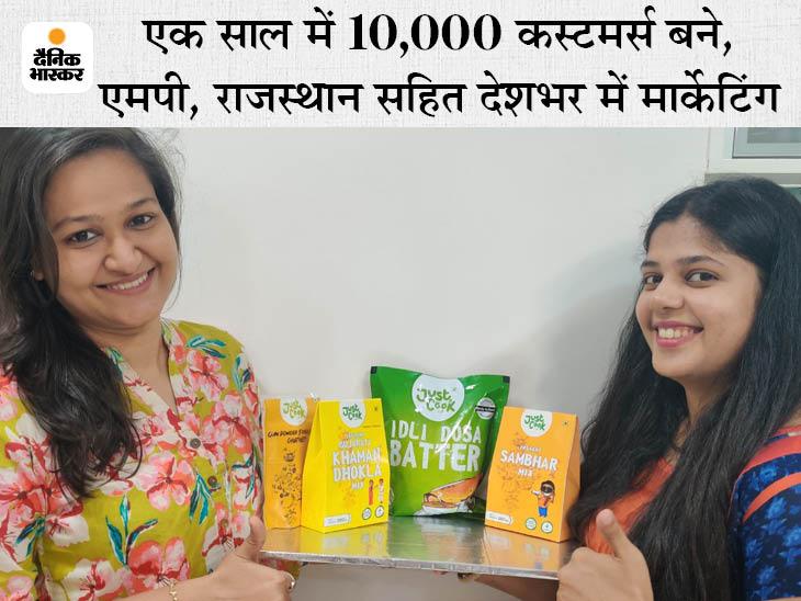 पुणे की दो दोस्तों ने पिछले लॉकडाउन में रेडी टू कुक फूड का स्टार्टअप शुरू किया, अब हर महीने 1.5 लाख का बिजनेस DB ओरिजिनल,DB Original - Dainik Bhaskar