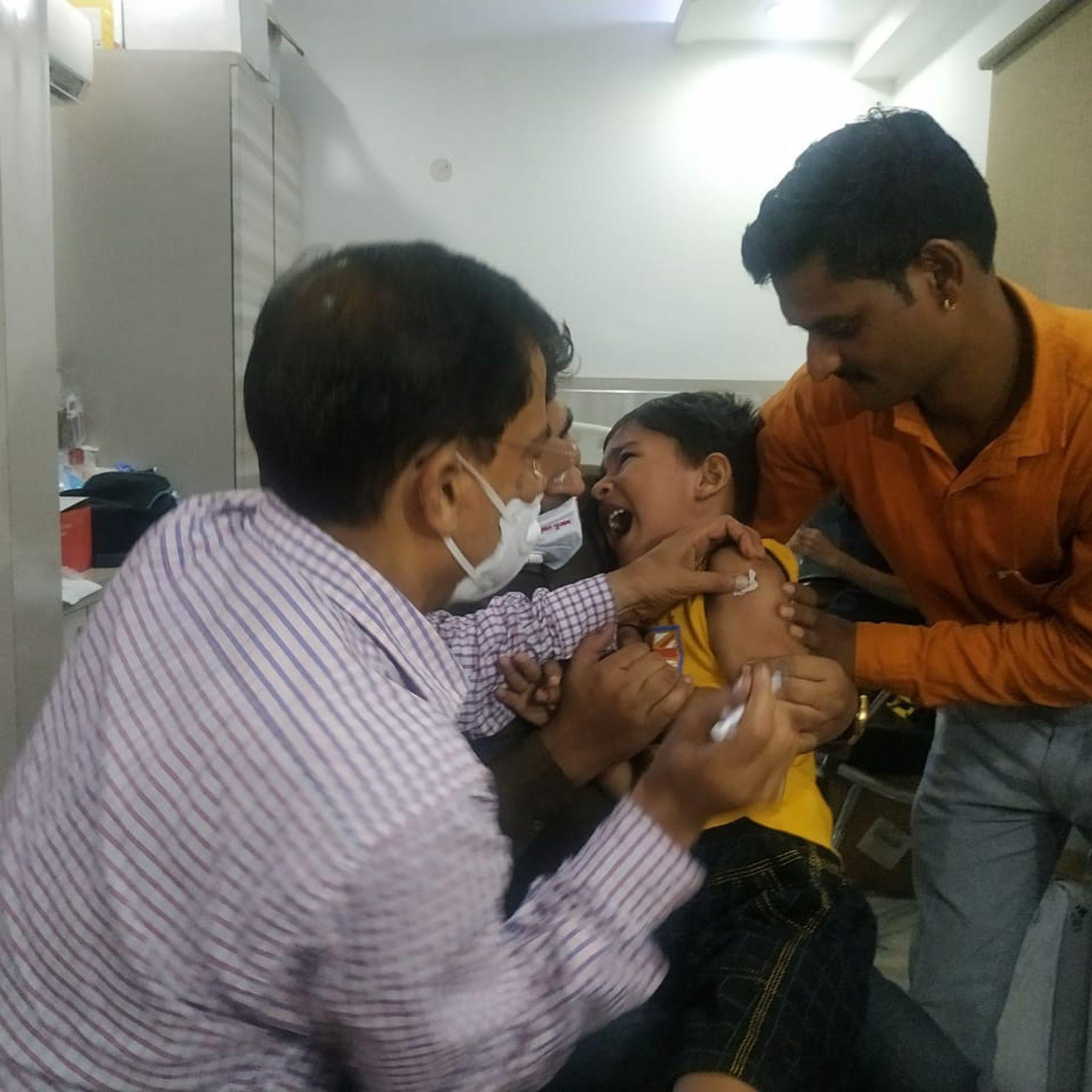 दिल्ली-पटना में वैक्सीन ट्रायल के लिए पहुंचे 55-60% बच्चों में पहले से एंटीबॉडी थी; अच्छी बात यह कि इन्हें कोरोना का पता ही नहीं चला|दिल्ली + एनसीआर,Delhi + NCR - Dainik Bhaskar