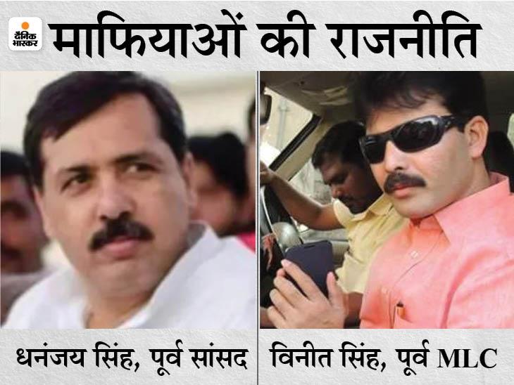जौनपुर में माफिया धनंजय की पत्नी और मिर्जापुर में बाहुबली विनीत सिंह के करीबी ने पंचायत चुनाव जीता, दोनों को BJP का समर्थन था; अब विधानसभा चुनाव पर नजर|वाराणसी,Varanasi - Dainik Bhaskar