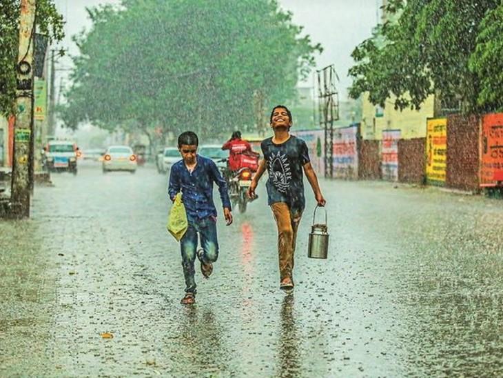 राजधानी लखनऊ और गोरखपुर में हवाओं के साथ झमाझम बारिश हुई, 12 जिलों में पारा 40 के पार पहुंचा|उत्तरप्रदेश,Uttar Pradesh - Dainik Bhaskar
