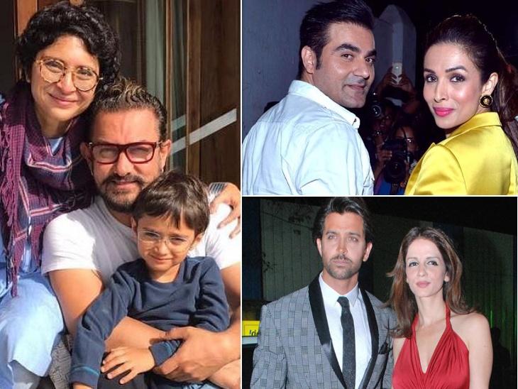 आमिर खान- किरण राव से पहले, इन सेलेब्स के तलाक से बॉलीवुड में मच गई थी खलबली|बॉलीवुड,Bollywood - Dainik Bhaskar