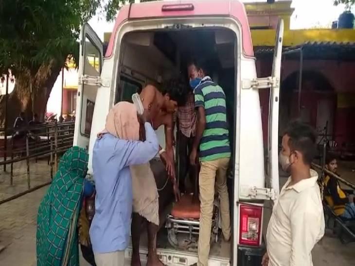 पेराई के वक्त मेंथा ऑयल की टंकी में हुआ धमाका, चपेट में आए दो मजदूर व एक मासूम बुरी तरह झुलसे; 2 की हालत गंभीर|लखनऊ,Lucknow - Dainik Bhaskar