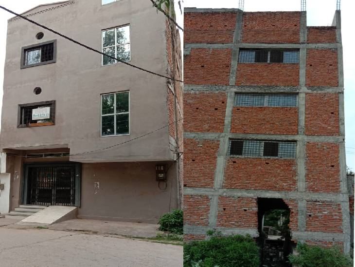 रीवा मेडिकल कॉलेज के डीन के परिवार ने नाले पर बना दी नर्सिंग होम बिल्डिंग, 5 साल पुरानी शिकायत कागजों में हुई दफन|रीवा,Rewa - Dainik Bhaskar