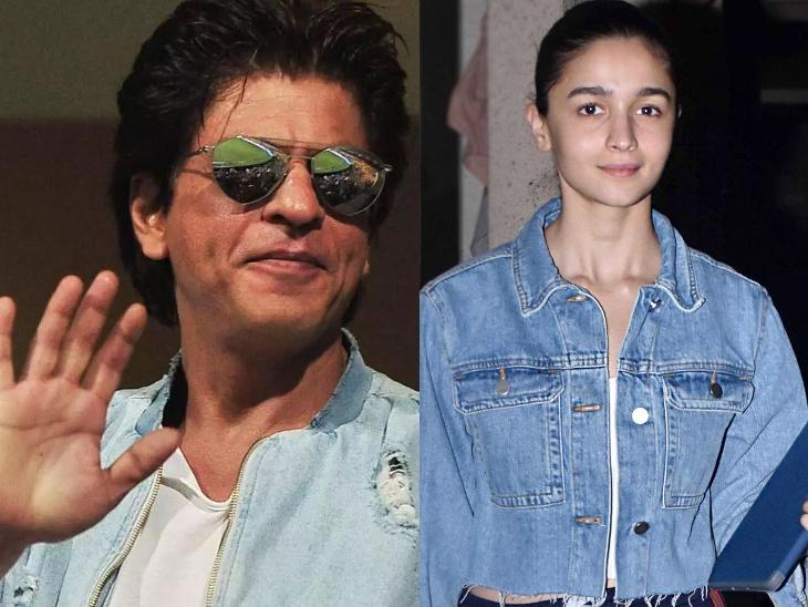शाहरुख खान ने आलिया भट्ट से मांगा उनकी फिल्म में काम, बोले- 'मैं समय पर शूट पर पहुंच जाऊंगा और प्रोफेशनल रहूंगा'|बॉलीवुड,Bollywood - Dainik Bhaskar