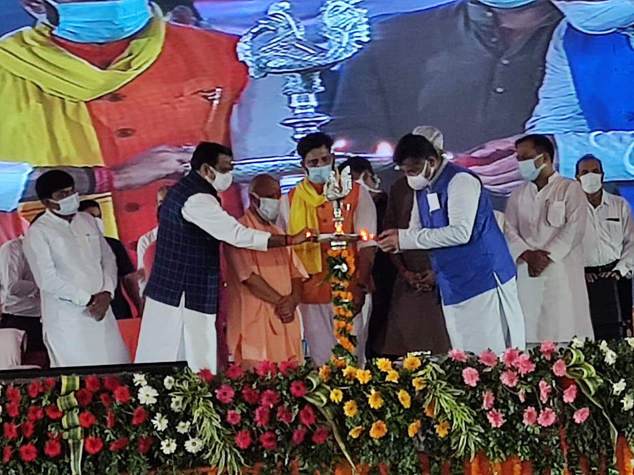 CM योगी ने गोरखपुर को दी तरकुलानी रेगुलेटर सहित 478 करोड़ की परियोजनाओं की सौगात, बोले...32 हजार की आबादी को बाढ़ से बचाएगा रेगुलेटर|गोरखपुर,Gorakhpur - Dainik Bhaskar