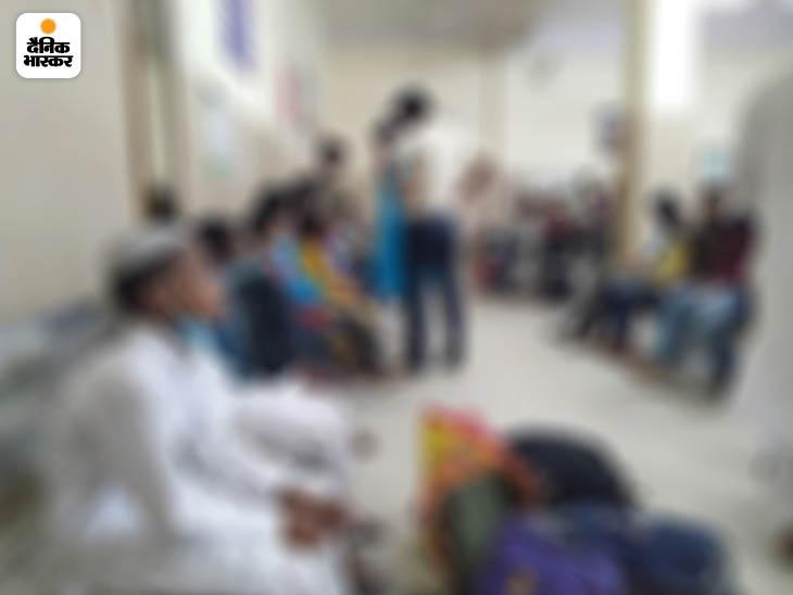 अलीगढ़ में बीते दिनों 25 बच्चे बरामद हुए।