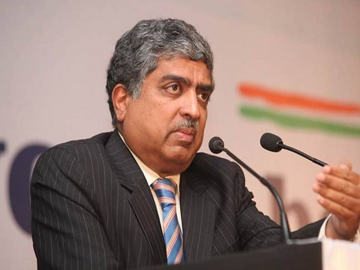 केंद्र सरकार ने 9 मेंबर्स की टीम बनाई, इंफोसिस के नंदन नीलेकणि को एडवाइजर बनाया गया बिजनेस,Business - Dainik Bhaskar