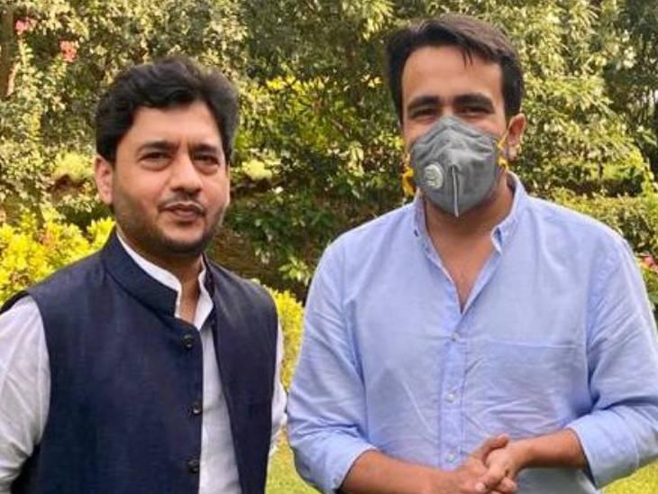 राष्ट्रीय लोकदल में शामिल हुए लालबहादुर शास्त्री के पौत्र; समाजसेवा के साथ कॉरपोरेट कंपनियों को स्थापित करने का किया काम|दिल्ली + एनसीआर,Delhi + NCR - Dainik Bhaskar