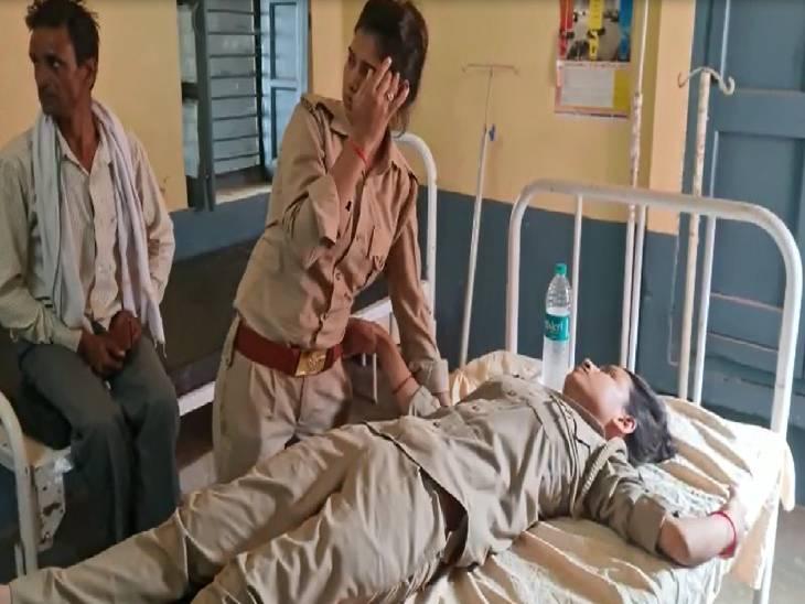 सुसाइड नोट में थानाध्यक्ष पर लगाए गंभीर आरोप, कहा- सभी महिला सिपाहियों को करता है प्रताड़ित|आगरा,Agra - Dainik Bhaskar