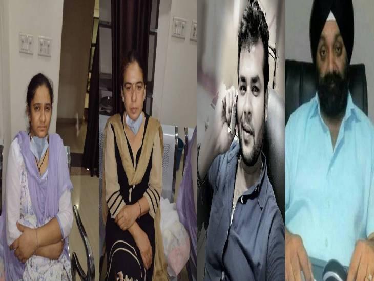 जबलपुर पुलिस की गिरफ्त में आए आरोपी।