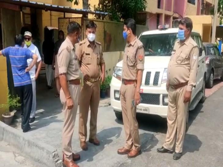 तकिए से गला दबाकर पहले पत्नी को मार डाला; फिर फांसी लगाकर दे दी जान, पुलिस को मिला सुसाइड नोट|गौतम बुद्ध नगर,Gautambudh Nagar - Dainik Bhaskar