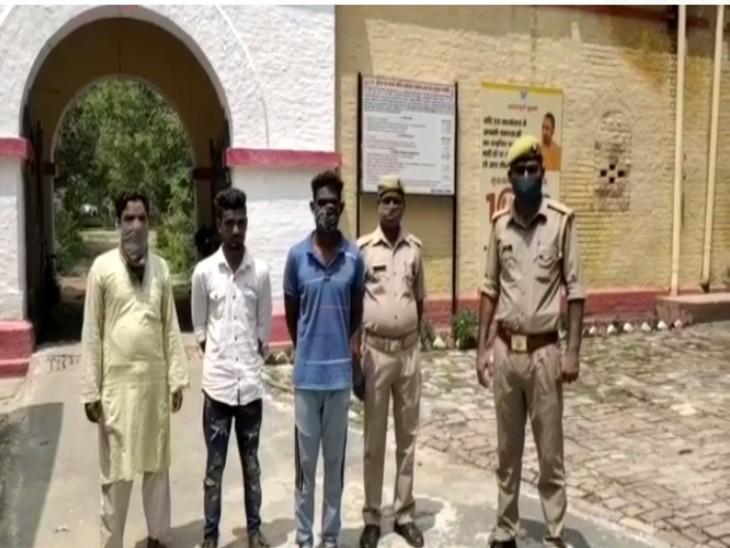 गुजरात से लाई गई युवती से निकाह पढ़ाने की थी तैयारी, मौके पर पहुंची पुलिस ने मौलवी सहित दो लोगों को हिरासत में लिया|बरेली,Bareilly - Dainik Bhaskar