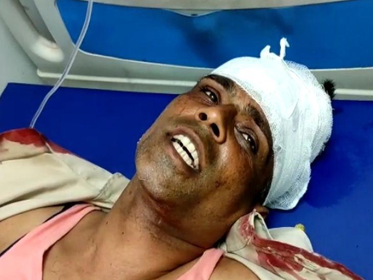 दो वाहनों में तोड़फोड़, होमगार्ड का जवान घायल; ADA करेगा कार्रवाई, विधायक व ग्रामीणों ने लगाया परेशान करने का आरोप|अजमेर,Ajmer - Dainik Bhaskar