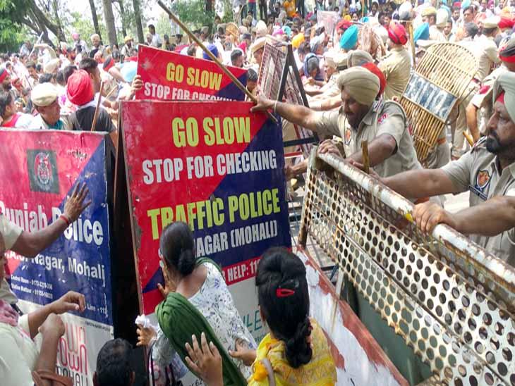 पंजाब पुलिस रोक नहीं पाई