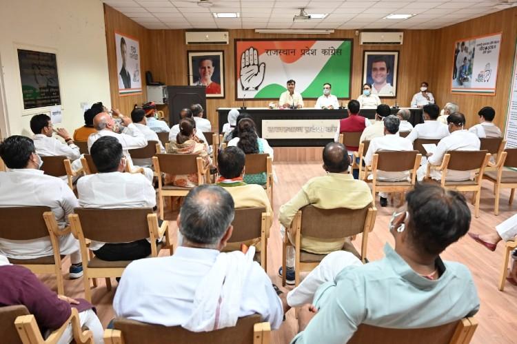 माकन की बैठक में विधायक बोले, जोश ठंडा हो रहा है, जल्द जिला-ब्लॉक में अध्यक्ष नियुक्त करें|जयपुर,Jaipur - Dainik Bhaskar