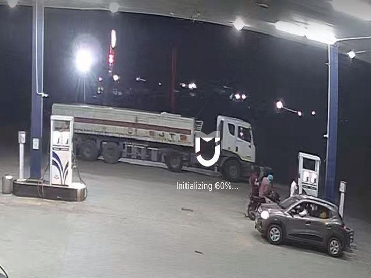 लूट के समय के CCTV