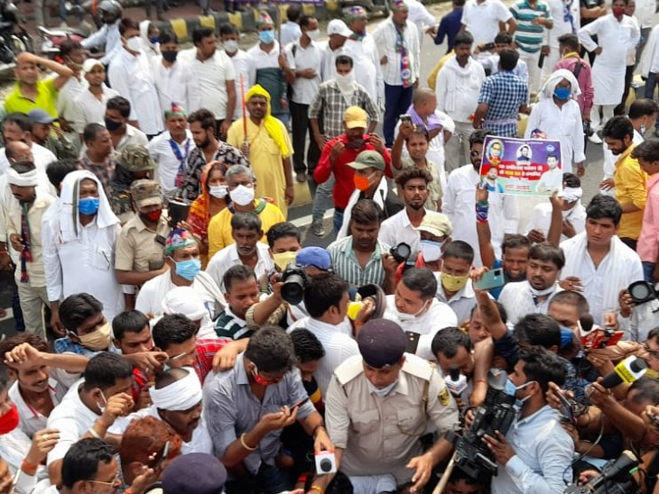 पुलिस पहले से जानती थी 3 सियासी कार्यक्रम होंगे, फिर भी भीड़ रोकने के नहीं किए इंतजाम; सिक्योरिटी देने में लगा रहा प्रशासन|बिहार,Bihar - Dainik Bhaskar