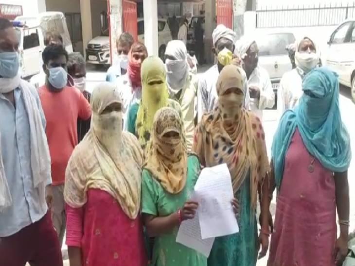 बागपत में पुलिसकर्मी ने थाने में महिलाओं से की अभद्रता। - Dainik Bhaskar