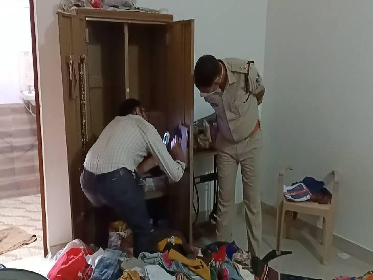 पिता की तेरहवीं में गया था पूरा परिवार, 10 लाख रुपए कैश और 5 लाख के जेवर समेट ले गए चोर; बेटी के इलाज के लिए रखे थे रुपए|जबलपुर,Jabalpur - Dainik Bhaskar