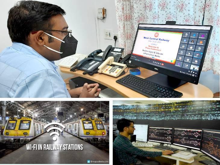 रेलवे का तकनीक से कदमताल।