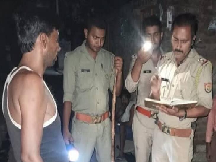 गाली-गलौच का विरोध करने पर मारी गोली, पुलिस ने दो आरोपियों को किया गिरफ्तार; पुलिस ने कहा- हिस्ट्रीशीटर था मृतक|कन्नौज,Kannauj - Dainik Bhaskar