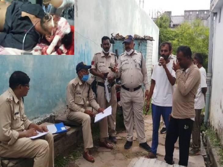उदय मिश्रा के हत्यारे दो दोस्त कोर्ट में करने वाले थे समर्पण, समान पुलिस ने कोर्ट पहुंचने से पहले दबोचा रीवा,Rewa - Dainik Bhaskar