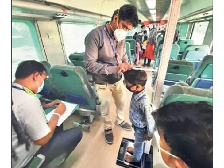 तीसरी लहर की आशंका; रेलवे ने चलाई मेडिकल स्पेशल, ट्रेन में ही होगी महिलाओं-बच्चों की जांच जयपुर,Jaipur - Dainik Bhaskar