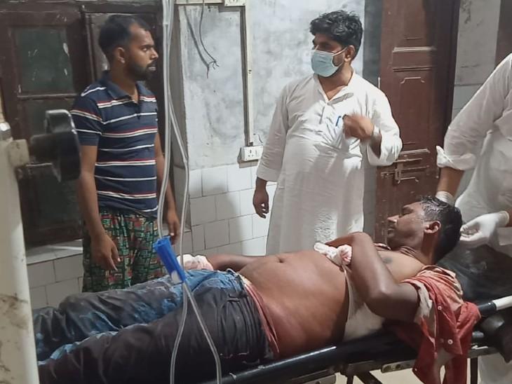 हथियार के बल पर अपराधियों ने लूट को दिया अंजाम, पत्नी के साथ अपने ससुर से मिलने ससुराल जा रहे थे पति, पटना रेफर|बिहार,Bihar - Dainik Bhaskar