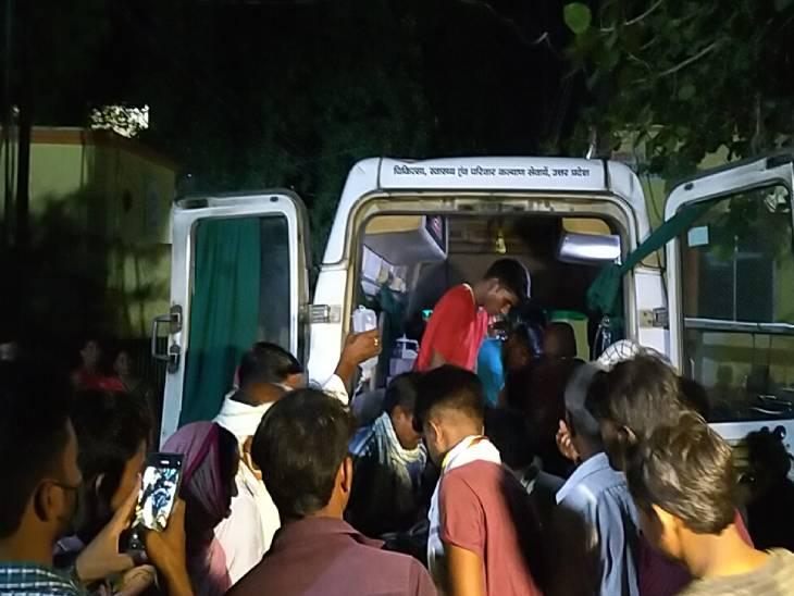 पॉव रोटी बेचने वाले युवक को पुरानी रंजिश में मारी गोली; गंभीर हालत में ट्रामा सेंटर लखनऊ रेफर, घात लगाकर बैठे थे हमलावर|सुलतानपुर,Sultanpur - Dainik Bhaskar