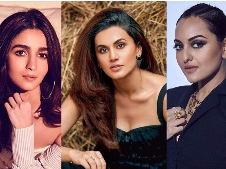 आलिया, तापसी, सोनाक्षी के प्रोजेक्ट्स में फॉलो हो रही हैं स्ट्रिक्ट कोविड गाइडलाइंस, क्रू को करना पड़ रहा है बायो बबल का सामना|बॉलीवुड,Bollywood - Dainik Bhaskar
