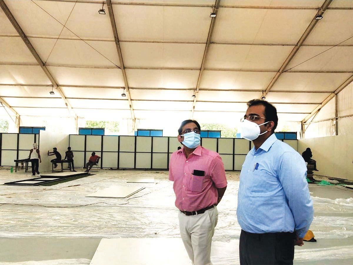 सिविल सर्जन डाॅ. विरेंद्र यादव ने बताया कि इससे सेक्टर-10 नागरिक अस्पताल के साथ-साथ शहर के बीच में ही मरीजों को डाॅक्टरी सलाह मिल सकेगी। - Dainik Bhaskar