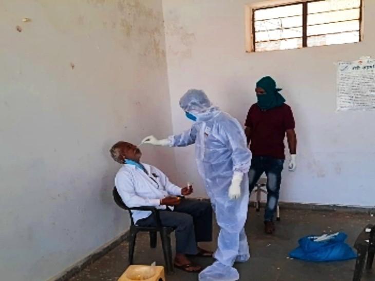 बुधवार को आए चार संक्रमित, मौत के आंकड़े पर लगा विराम; अब सिर्फ 40 संक्रमित|उदयपुर,Udaipur - Dainik Bhaskar