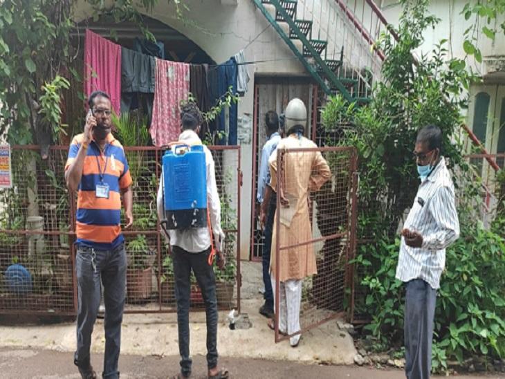 हुडको में एक सस्पेक्टेड मरीज मिला, बीमार महिला की दो जांच रिपोर्ट आना बाकी; कुछ दिन पहले हैदराबाद से लौटा था परिवार|भिलाई,Bhilai - Dainik Bhaskar