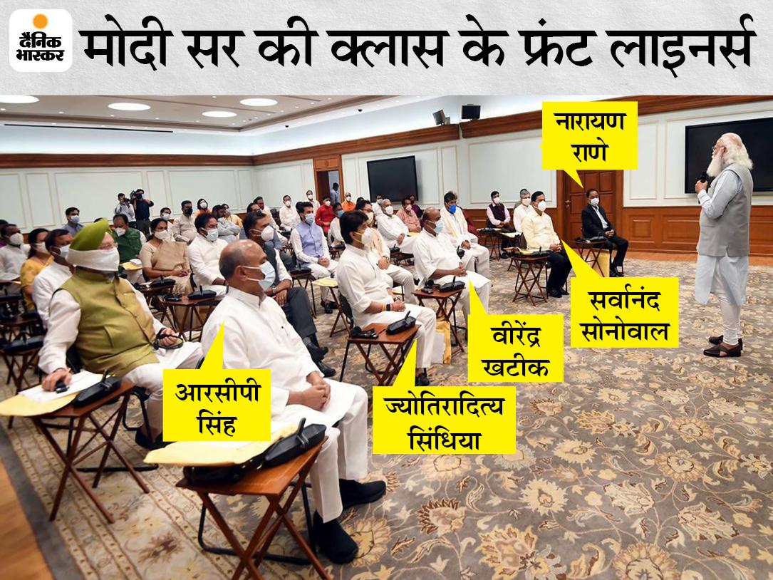 सिंधिया, आरसीपी सिंह, सोनोवाल, नारायण राणे बने फ्रंट लाइनर्स; इससे समझिए सरकार और सियासत की चाल|देश,National - Dainik Bhaskar
