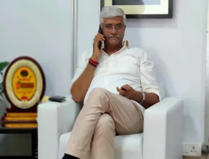 केंद्रीय मंत्री गजेंद्र सिंह के वॉयस सैम्पल लेने के लिए ACB को मिली कोर्ट से मंजूरी, फोन टैपिंग के आरोप वाले ऑडियों से मंत्री की आवाज मिलाई जाएगी|जयपुर,Jaipur - Dainik Bhaskar