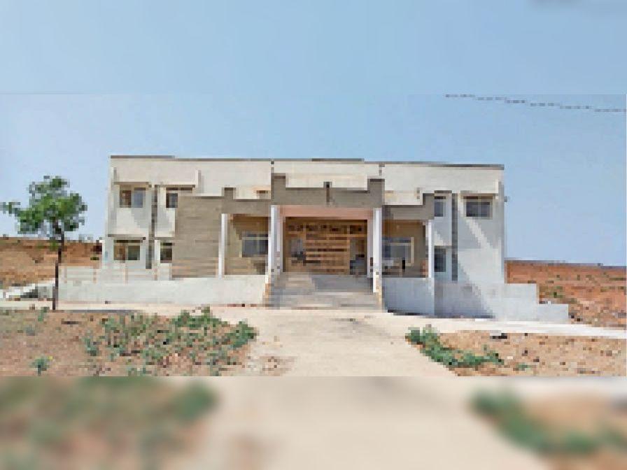 नवीन थाना भवन का फोटो जो बनने के बाद ऐसा दिखेगा। - Dainik Bhaskar