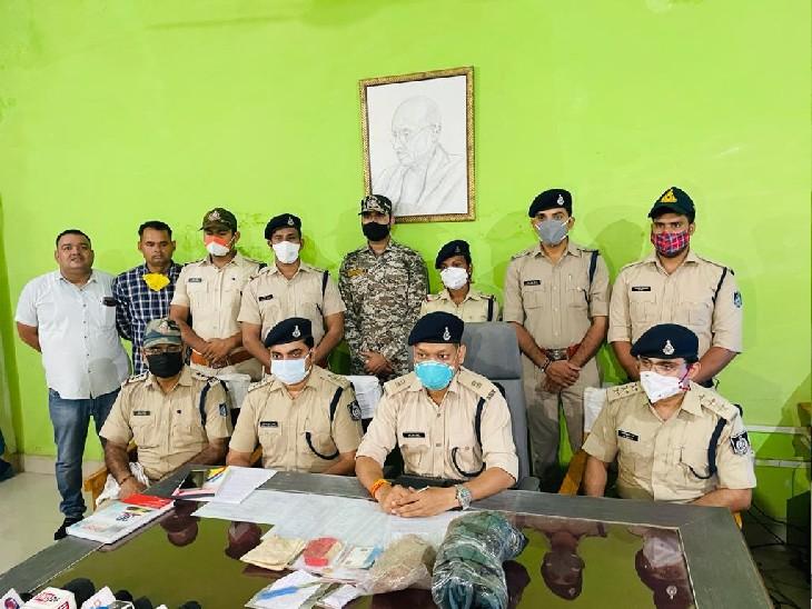 2 हजार रुपए में खरीदे कट्टे की दम पर लूटे थे वकील से 1.70 लाख रुपए, CCTV फुटेज से सुराग मिला और 2 लुटेरे पकड़े गए, टेकनपुर में भी लूटी थी बंदूक|ग्वालियर,Gwalior - Dainik Bhaskar