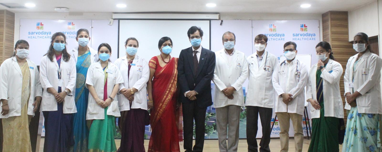 तीसरी लहर में यदि अधिक मरीज आते हैं तो कैसे बेहतर इलाज करेंगे, इस बारे में मेडिकल स्टाफ को किया गया प्रशिक्षित|फरीदाबाद,Faridabad - Dainik Bhaskar