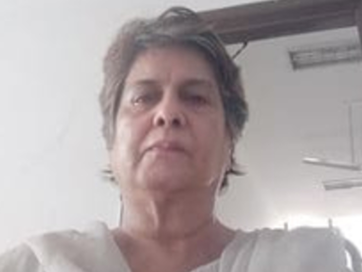 पी रंगराजन कुमारमंगलम की पत्नी किट्टी की बदमाशों ने घर में घुसकर हत्या की; एक संदिग्ध हिरासत में, दो अन्य की तलाश जारी|देश,National - Dainik Bhaskar